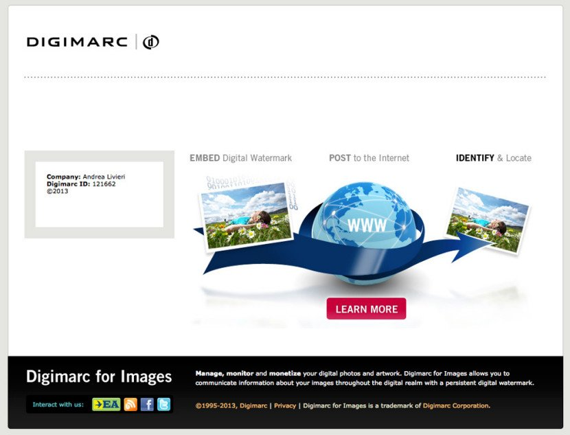 digimarc watermark
