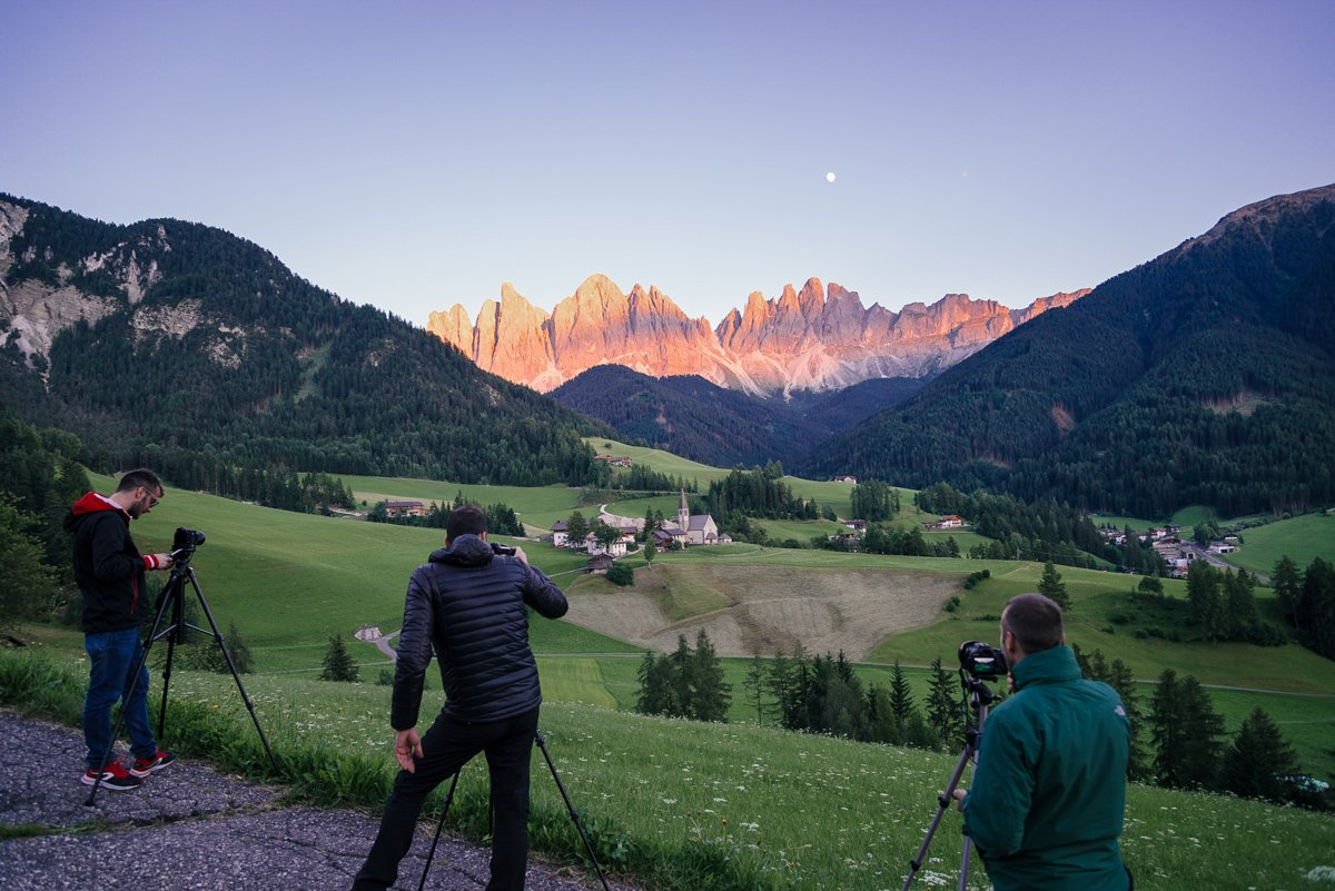 andrea livieri val di funes bts workshop about me