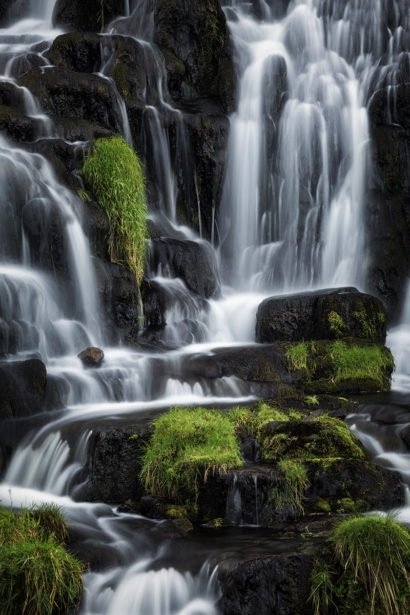 isle of skye scozia waterfall