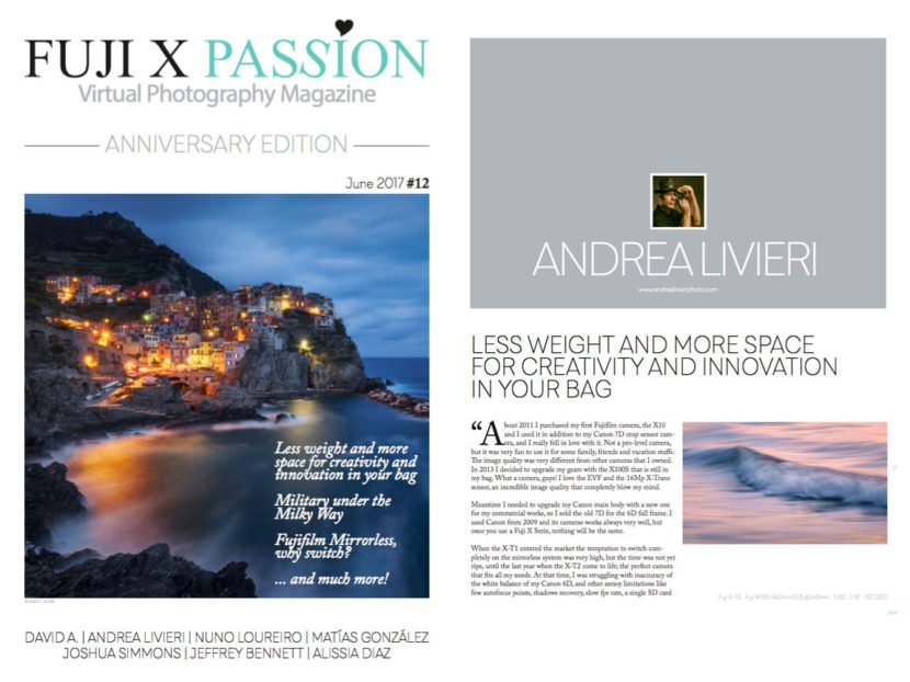 fujifilm x passion andrea livieri feature landscape photography workshop