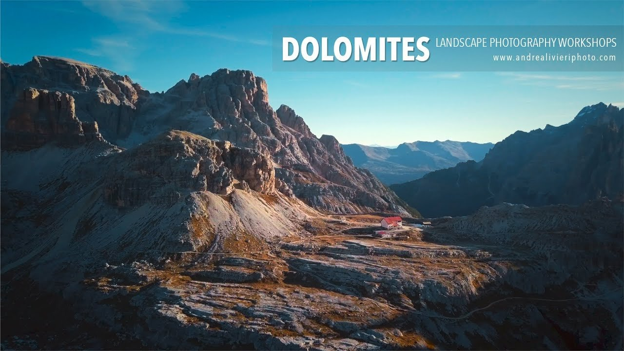 Dolomites Workkshop - Video drone dji mavic pro