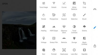 best apps for landscape photography snapseed
