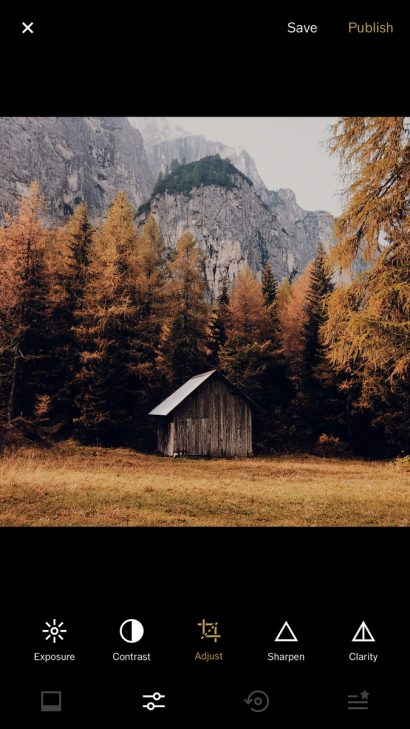 best apps for landscape photography vsco