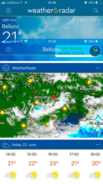 best apps for landscape photography weather radar
