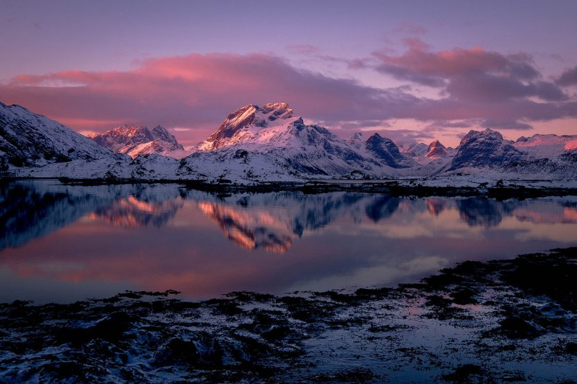 winter lofoten norway workshop photography workshop andrea livieri fujifilm
