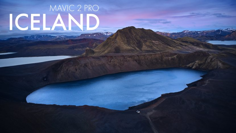 Iceland Photography Workshop - Drone Mavic 2 Pro DJI