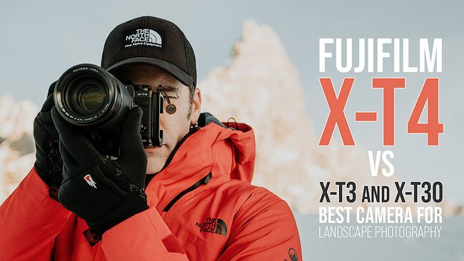 fujifilm X-T4 vs X-T3 vs X-T30 What's the BEST Camera for Landscape Photography Andrea Livieri