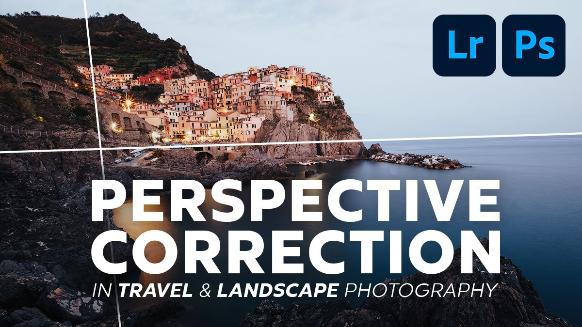 perspective correction in lightroom and photoshop Andrea Livieri
