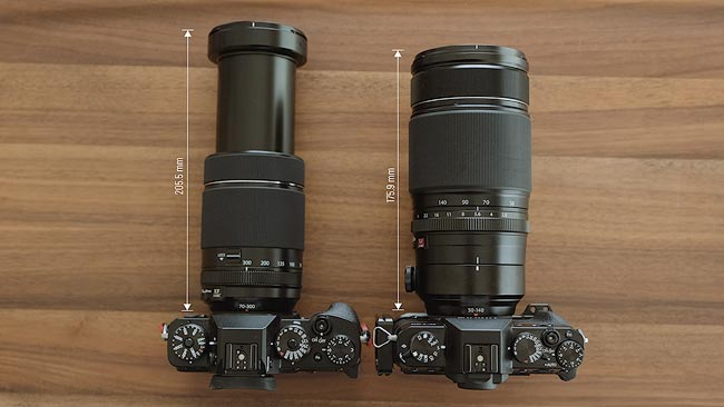 fujifilm 70-300mm review specifications