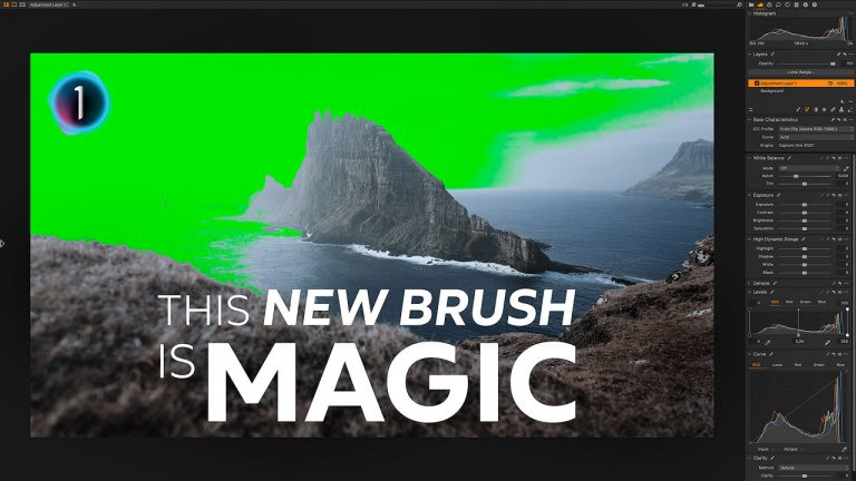 Magic Brush in Capture One 14.3 – Masking in now a kid's play!